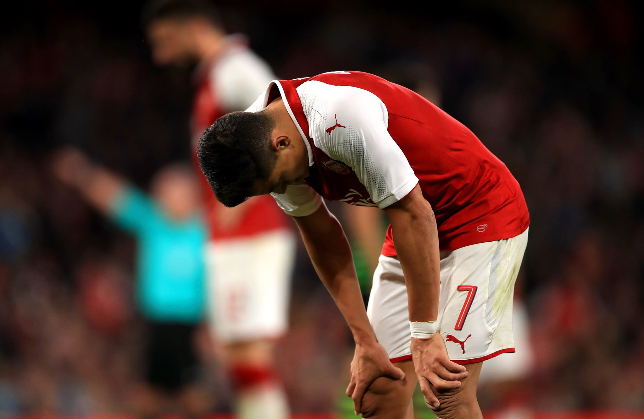 Did ref rage prove Alexis commitment to Arsenal cause?