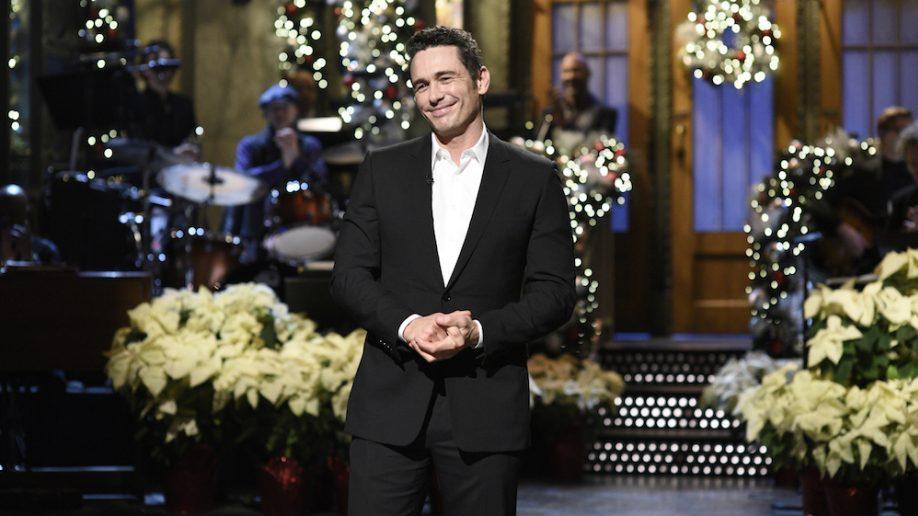 James Franco, Seth Rogen, Jonah Hill and Steve Martin Argue Through 'Saturday Night Live' Monologue