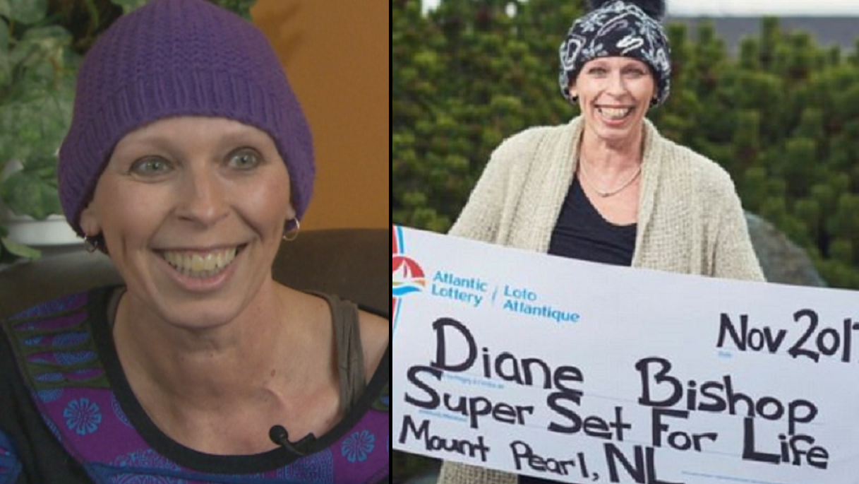 Cancer Patient Wins The Lottery And Then Learns Her Treatment Is Working