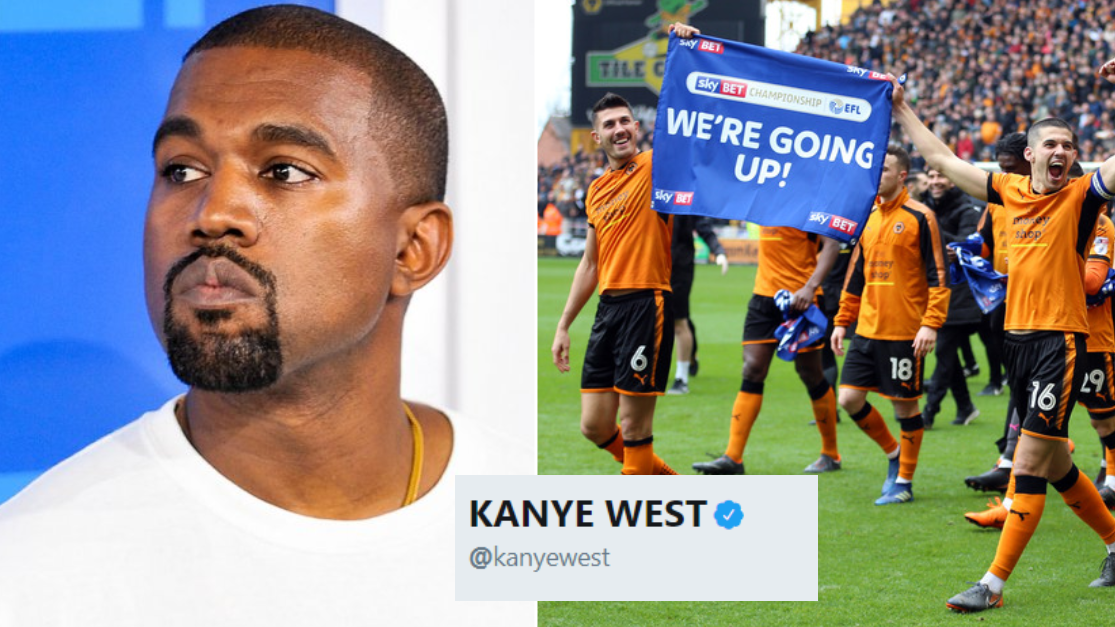 The Theory That Kanye West Is The Reason Behind Wolves' Premier League Promotion
