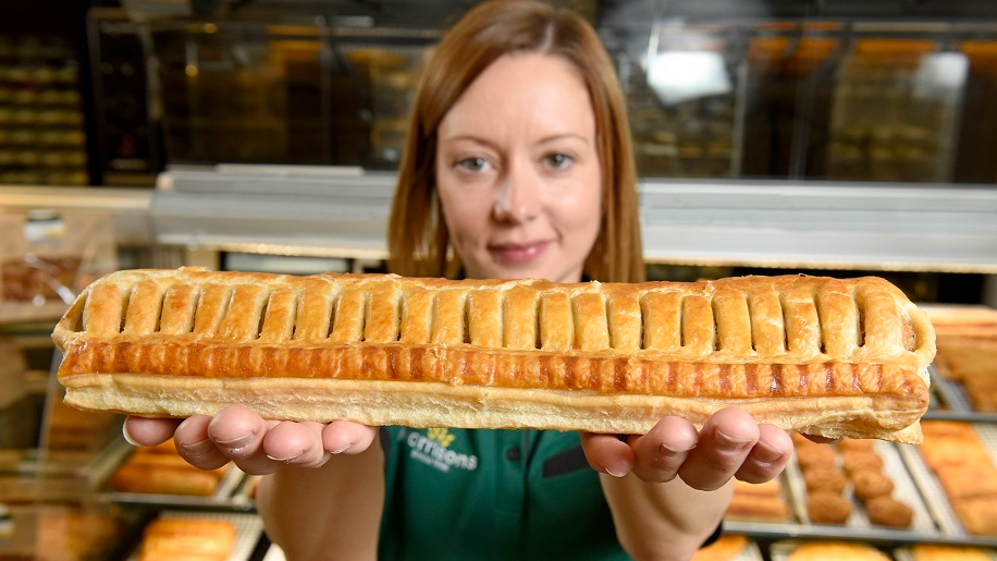 The UK's Biggest Sausage Rolls Are Now Being Sold