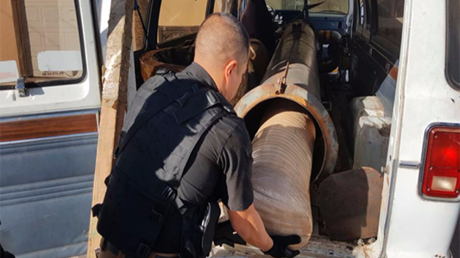 Mexican Drug Dealers Try Firing Weed Into The US Via Bazooka - Again