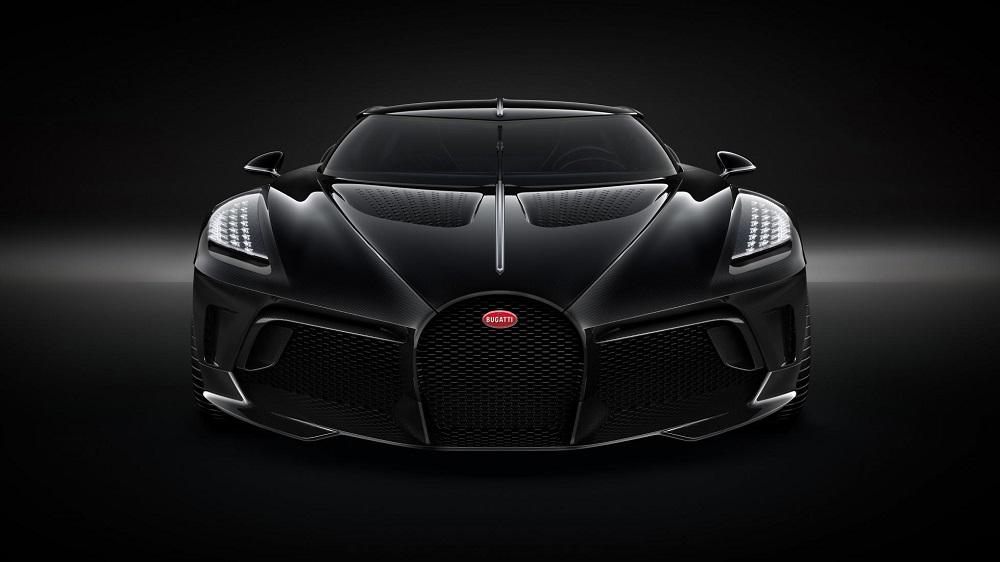 La Voiture Noire translates as 'The Black Car'. Credit: Bugatti