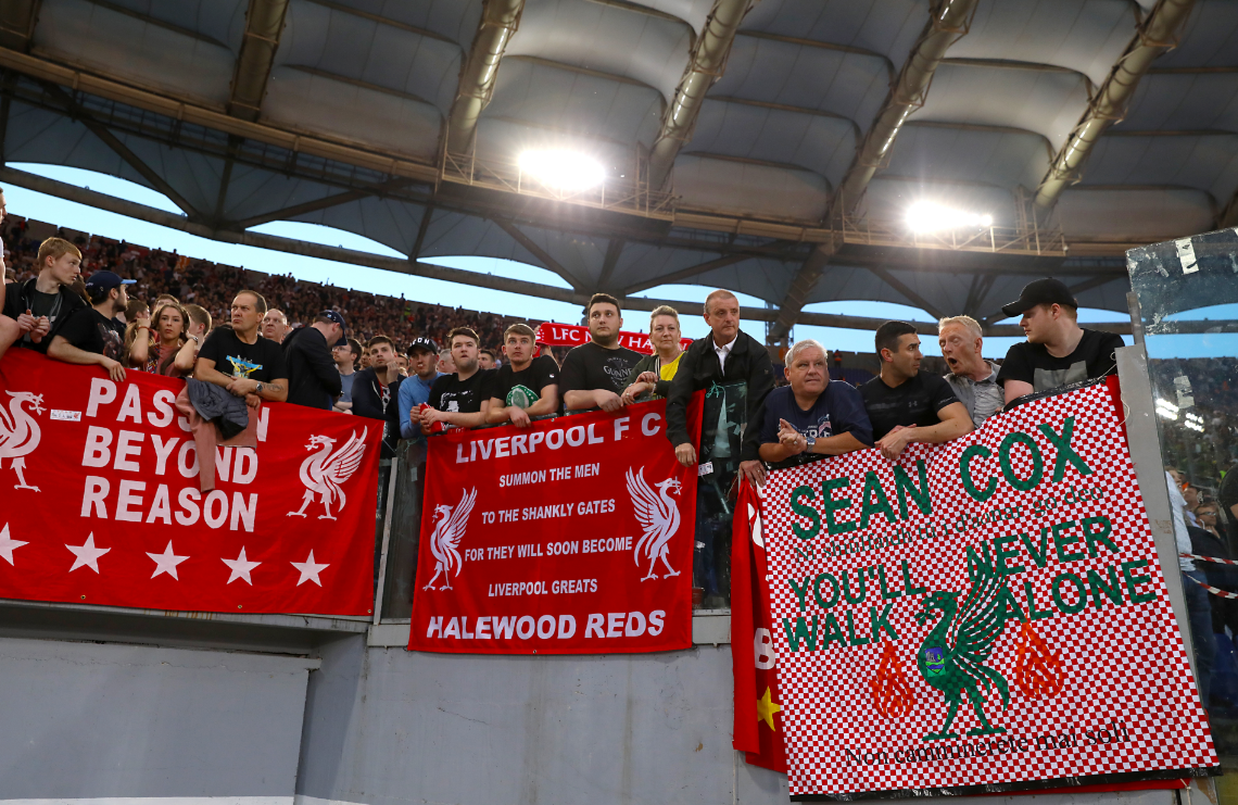 Stabbed Liverpool fan Sean Cox regains consciousness