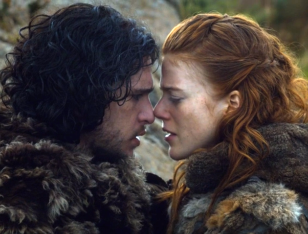 Jon and Ygritte. Credit: HBO