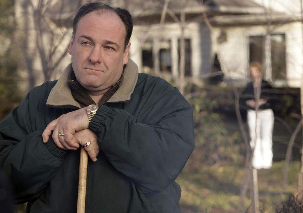 James Gandolfini as Tony Soprano. Credit: HBO
