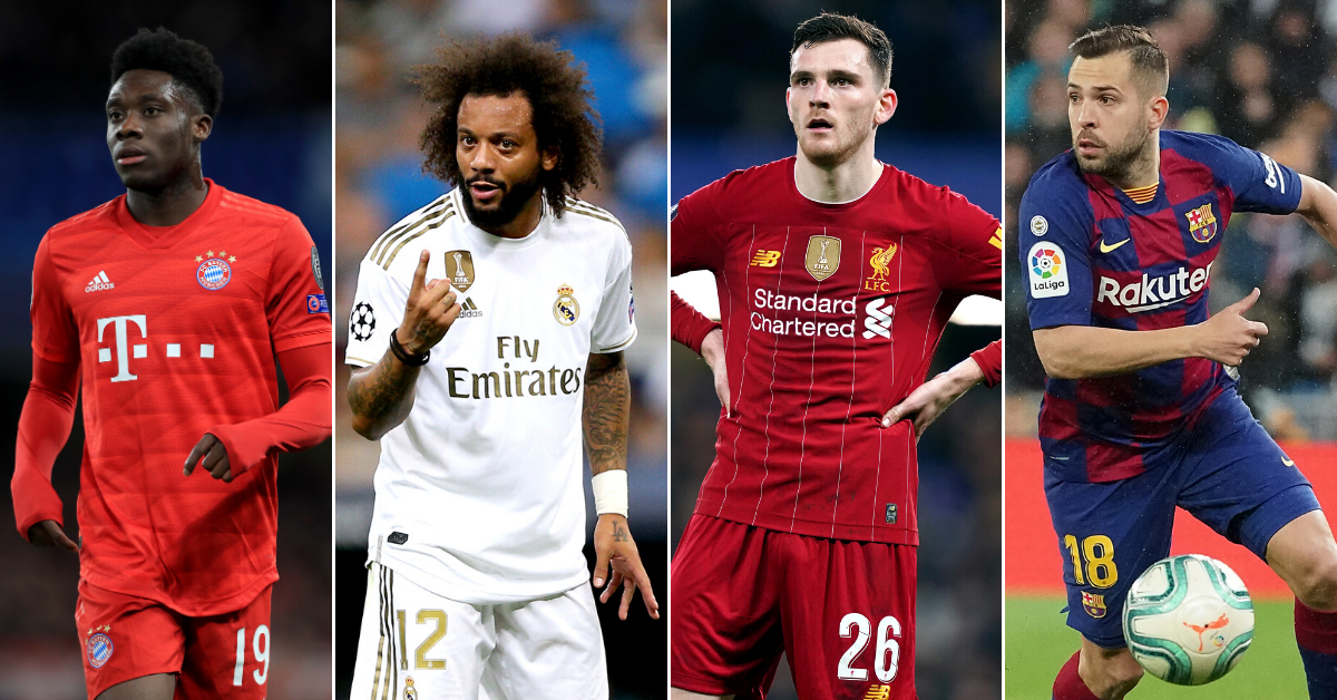 The 10 Best Left Backs In World Football Right Now Have Been Ranked Sportbible
