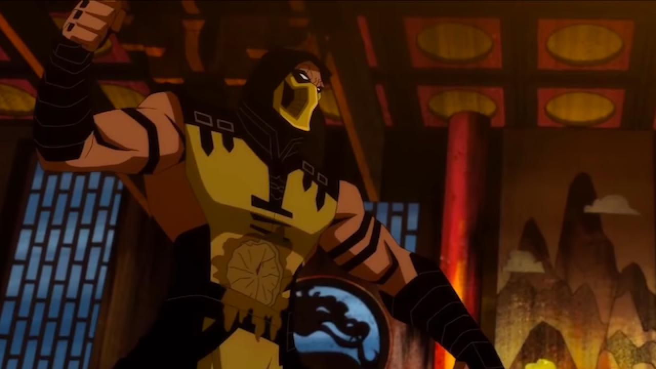 Animated Mortal Kombat Movie Scorpion S Revenge Coming Later