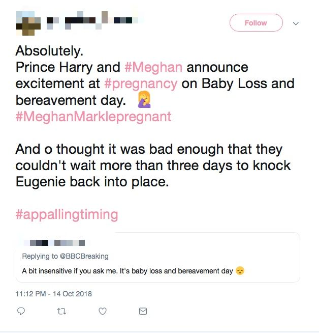 Meghan and Harry accused of making insensitive choice with pregnancy announcement