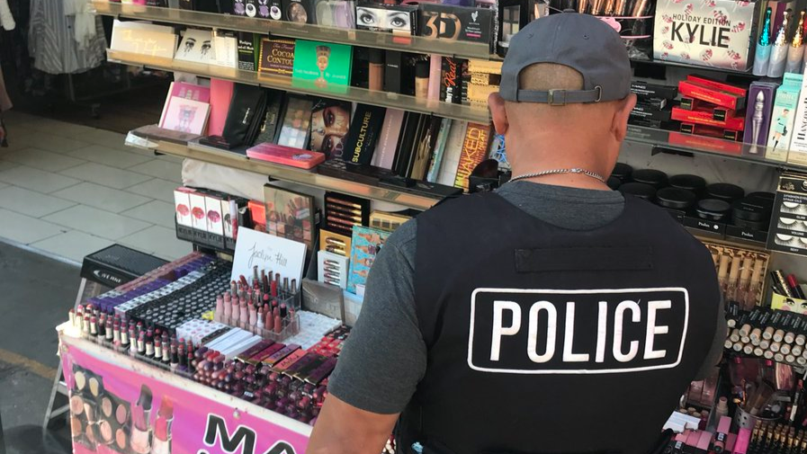 LAPD Raids Find About £500,000 Of Fake Cosmetics Contaminated With Faeces