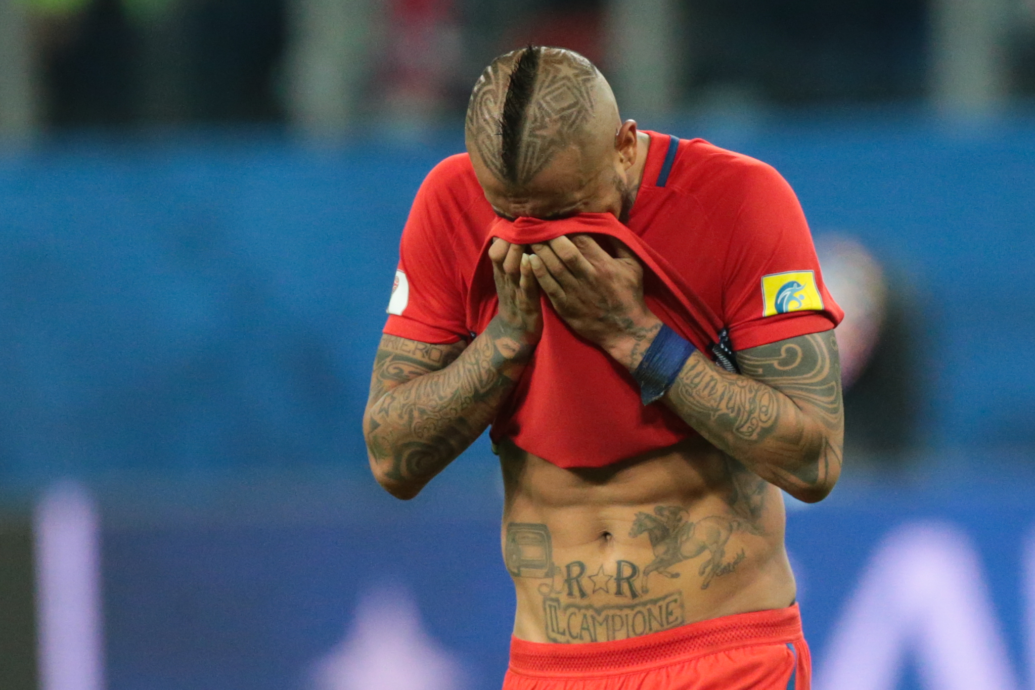 Arturo Vidal retires from worldwide football after Chile defeat