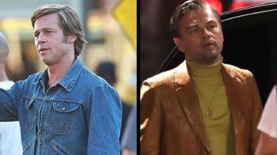 Brad Pitt And Leonardo DiCaprio Spotted Filming New Quentin Tarantino Movie