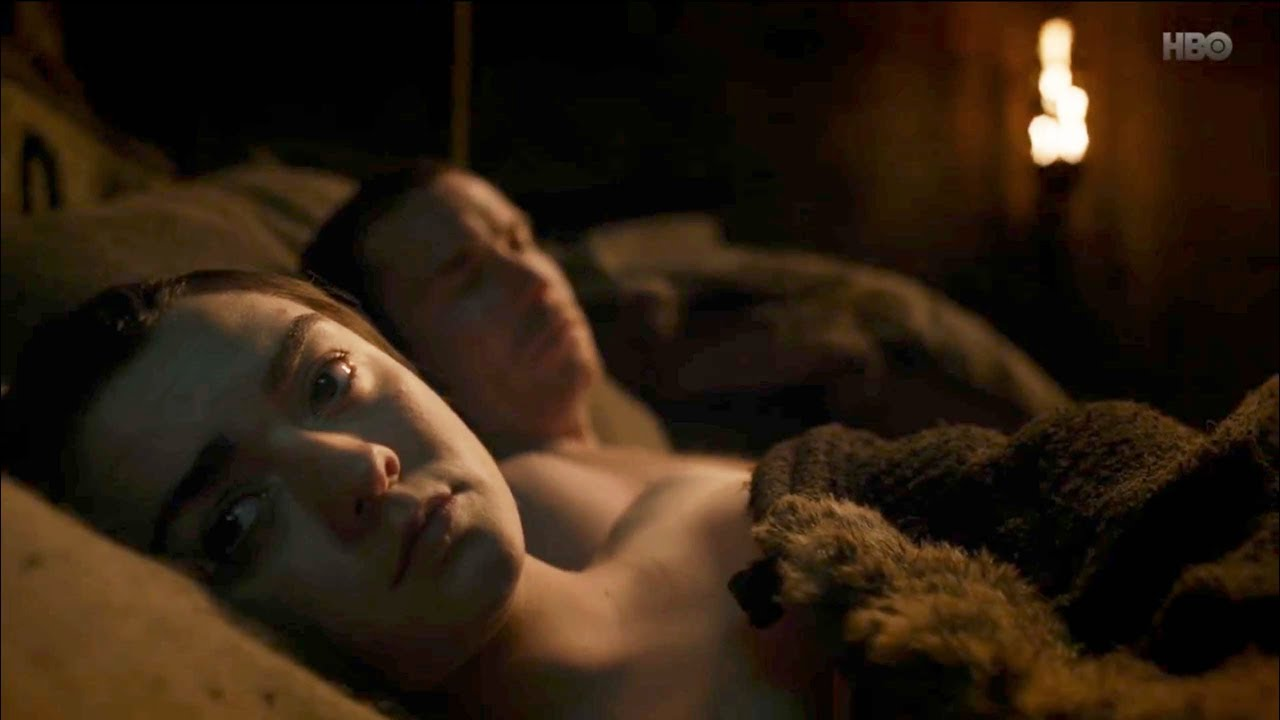 Lots of viewers weren't sure how to feel about Arya's sex scene. Credit: HBO
