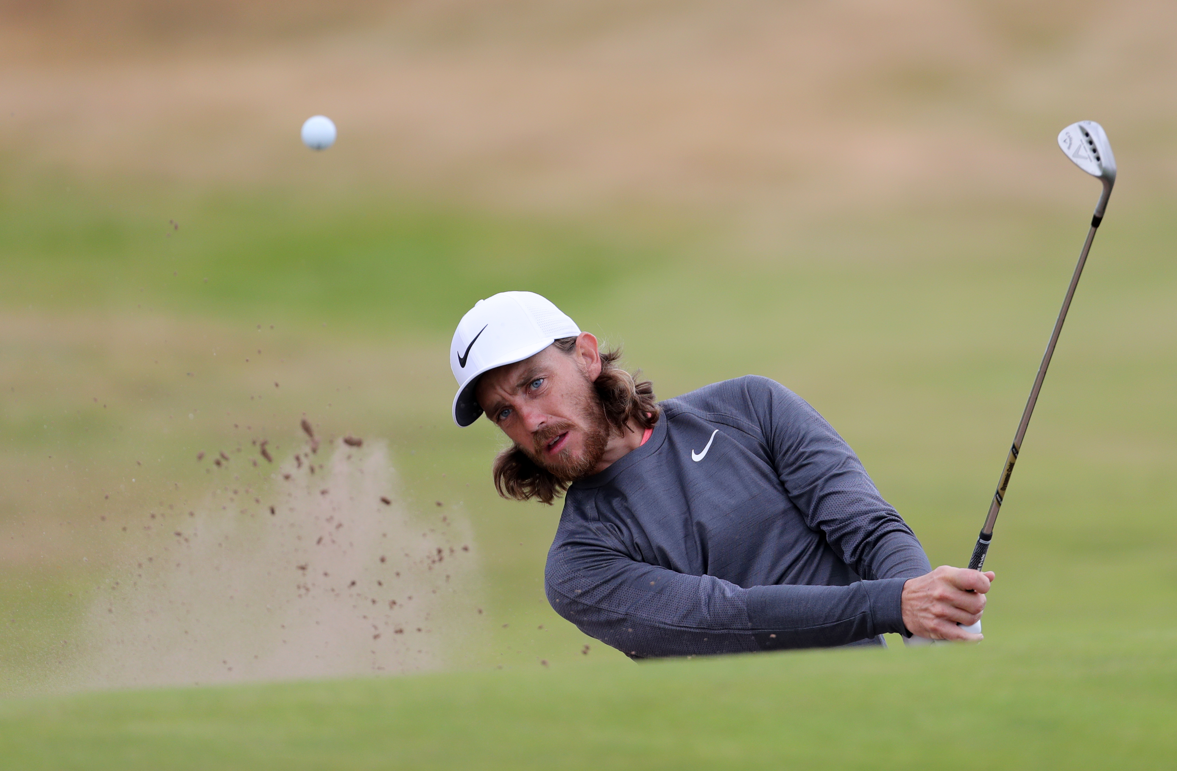 Fleetwood playing at the Open. Image: PA Images