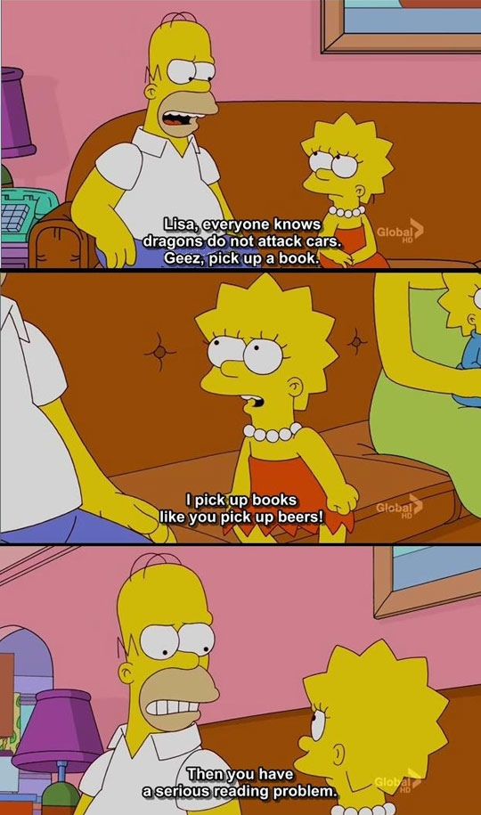 I can relate Homer.