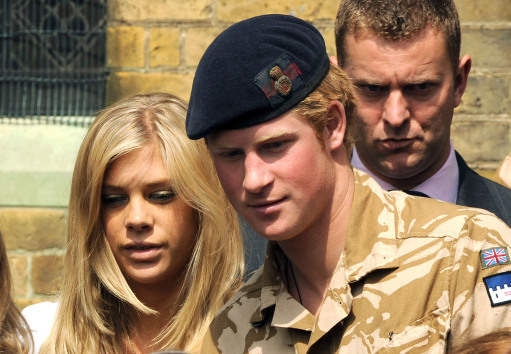 I'm A Celeb queen Toff 'dating Prince Harry ex's former flame'