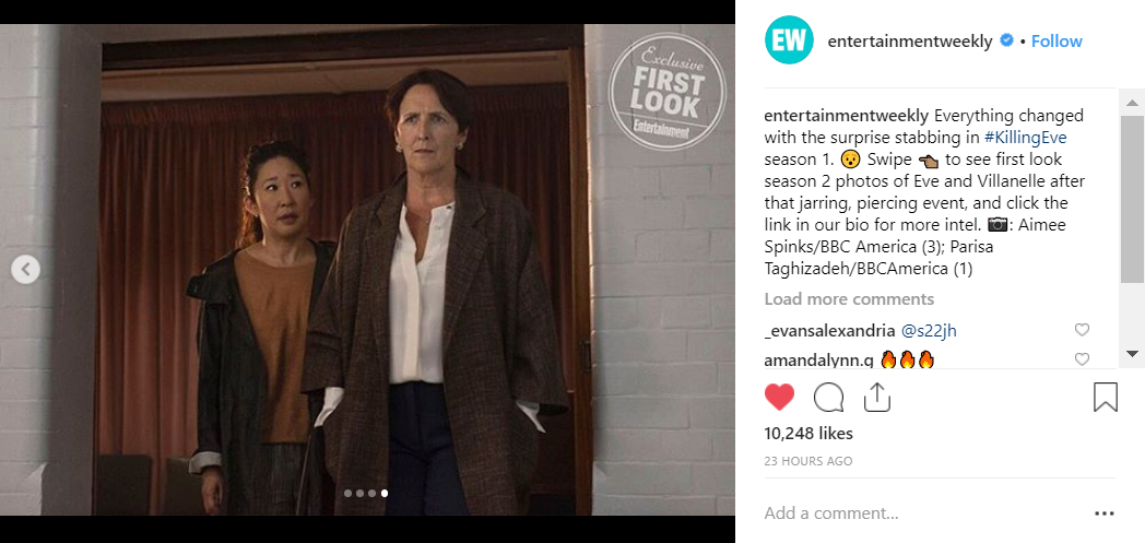 Credit: Instagram/Entertainment Weekly