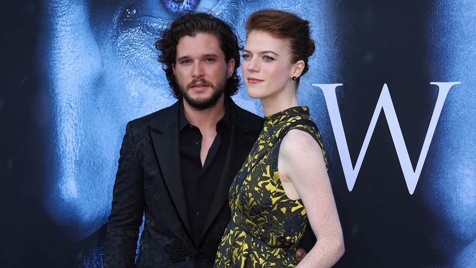 Rose Lelsie debuts engagement ring from Kit Harington