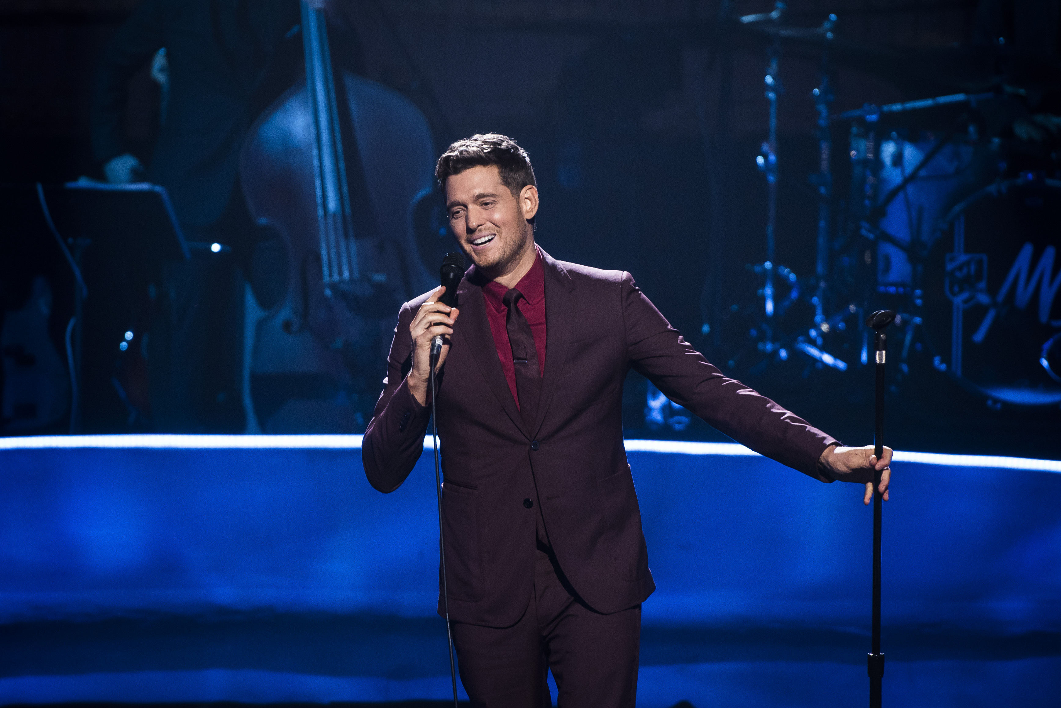 Michael Buble announces he is quitting music following son's cancer battle