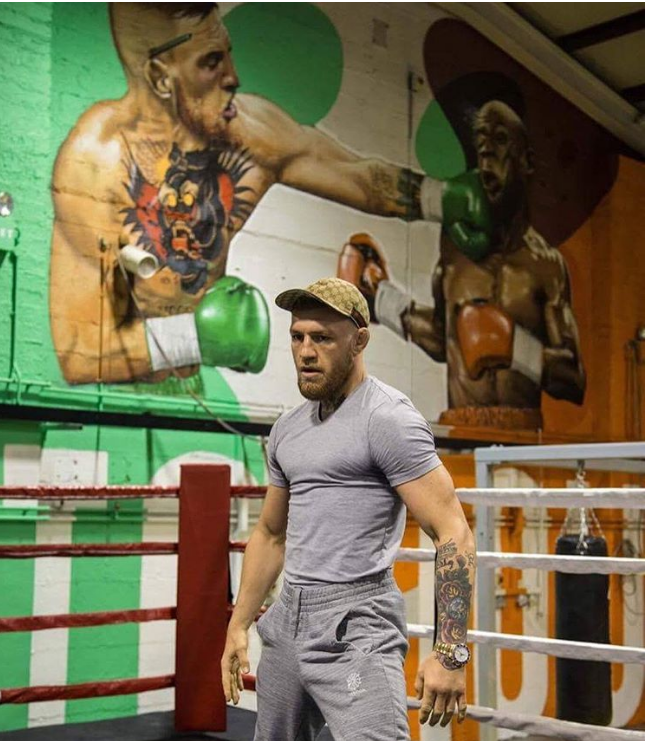 Conor McGregor Not Obligated To Wear Reebok Gear At Super Fight