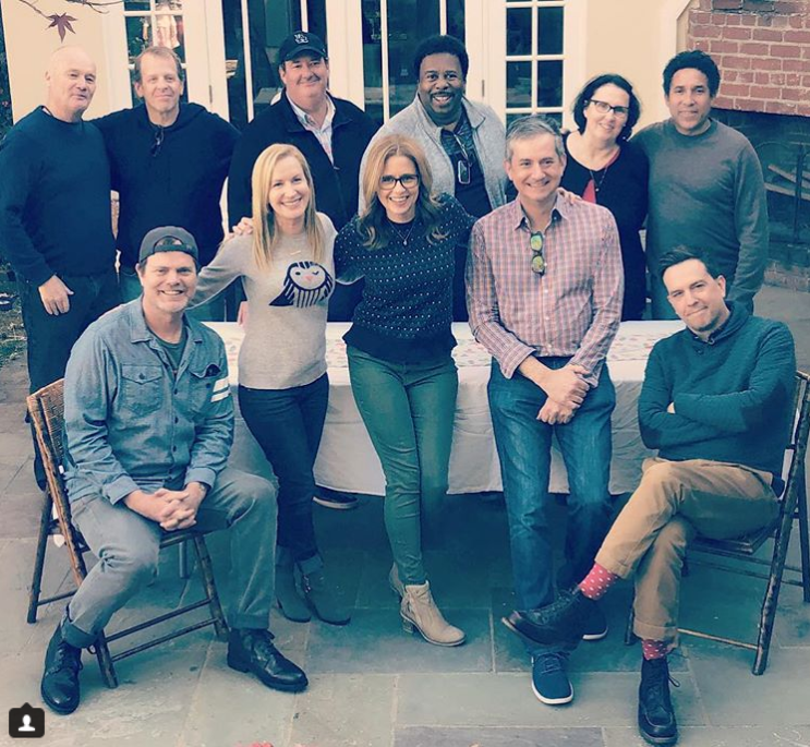The Cast Of The Office Us Had A Reunion And It Was Amazing Credit: Instagram/Angela Kinsey