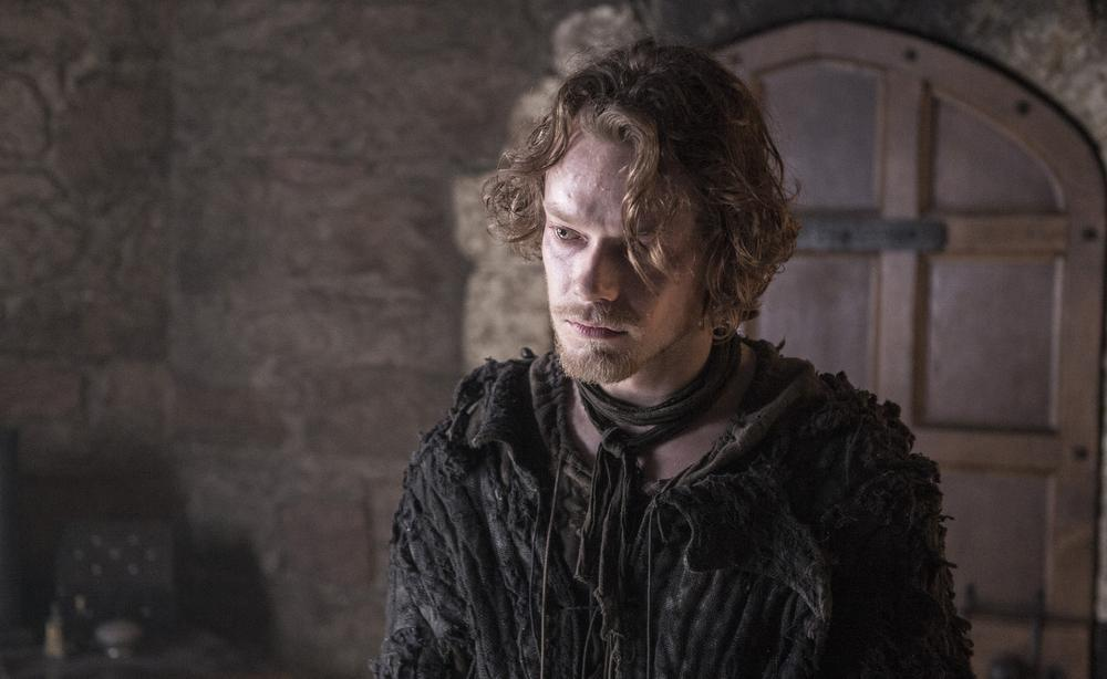 Theon Greyjoy as Reek