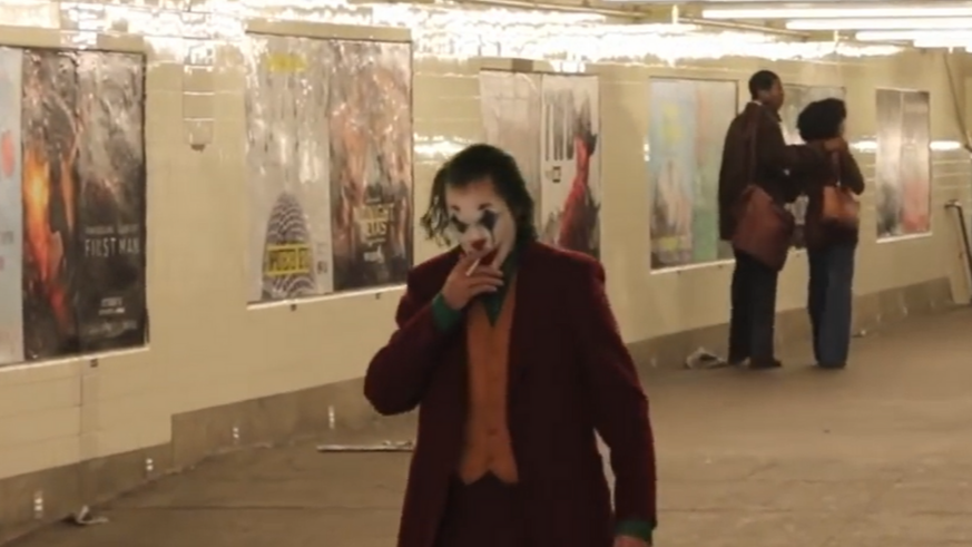 Leaked Joker Scene Sees Joaquin Phoenix Smoking Cigarette