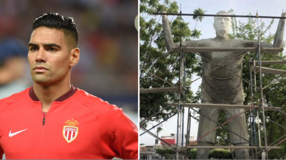 Radamel Falcao's Statue Literally Looks Nothing Like Him