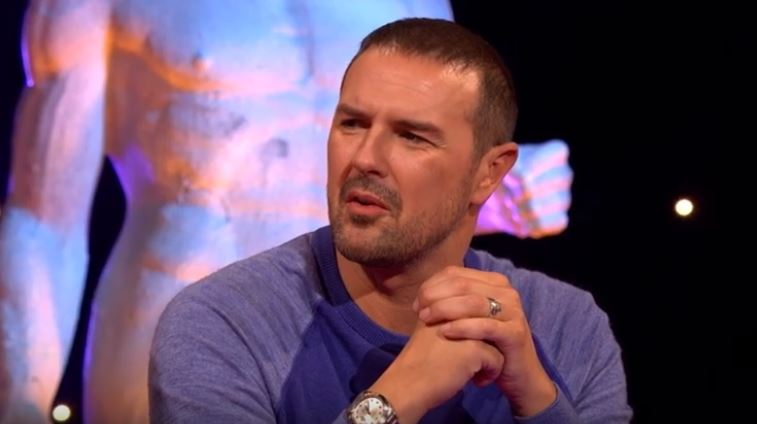 Paddy McGuinness was confused by the conversation. Credit: ITV2
