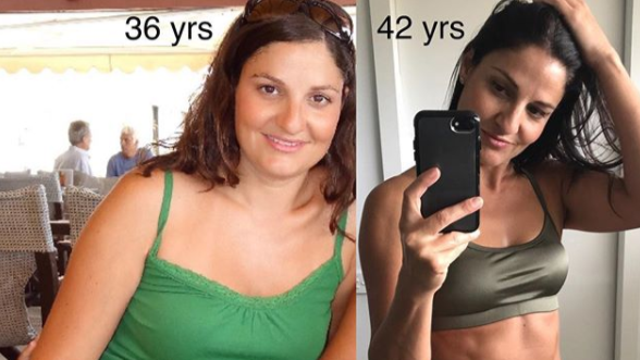 Mum-Of-Two Shows Off Amazing Body Transformation And Reveals 'Game Changer' That Helped