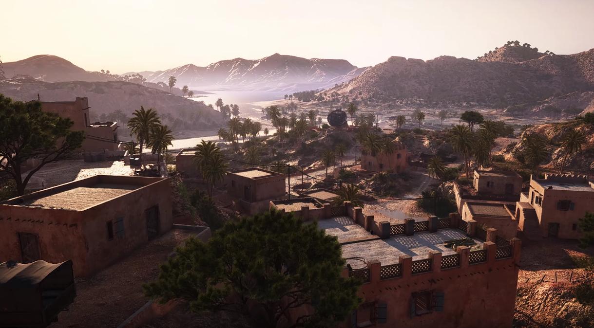 Battlefield V - Al Sundan Map
