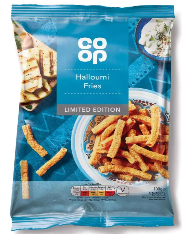 Halloumi fries on the go guys. Credit: Co-op