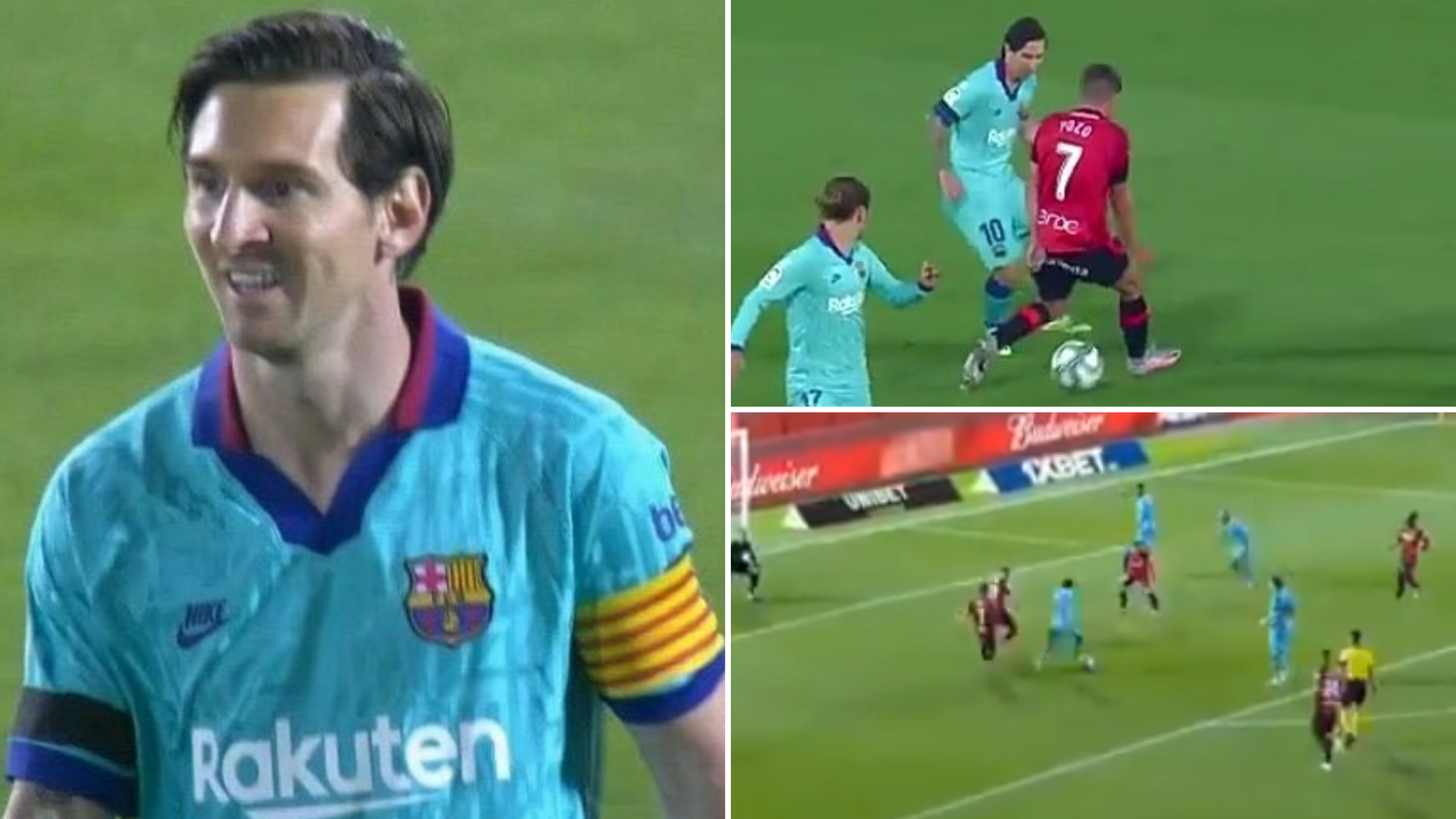 Lionel Messi S Individual Highlights Vs Mallorca Prove He Is More Motivated Than Ever Sportbible
