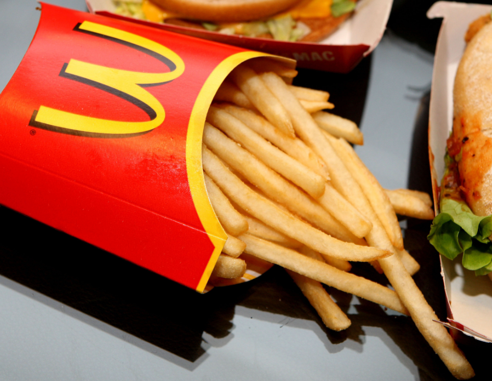 Scientists say chemical used in McDonald's chips can cure baldness