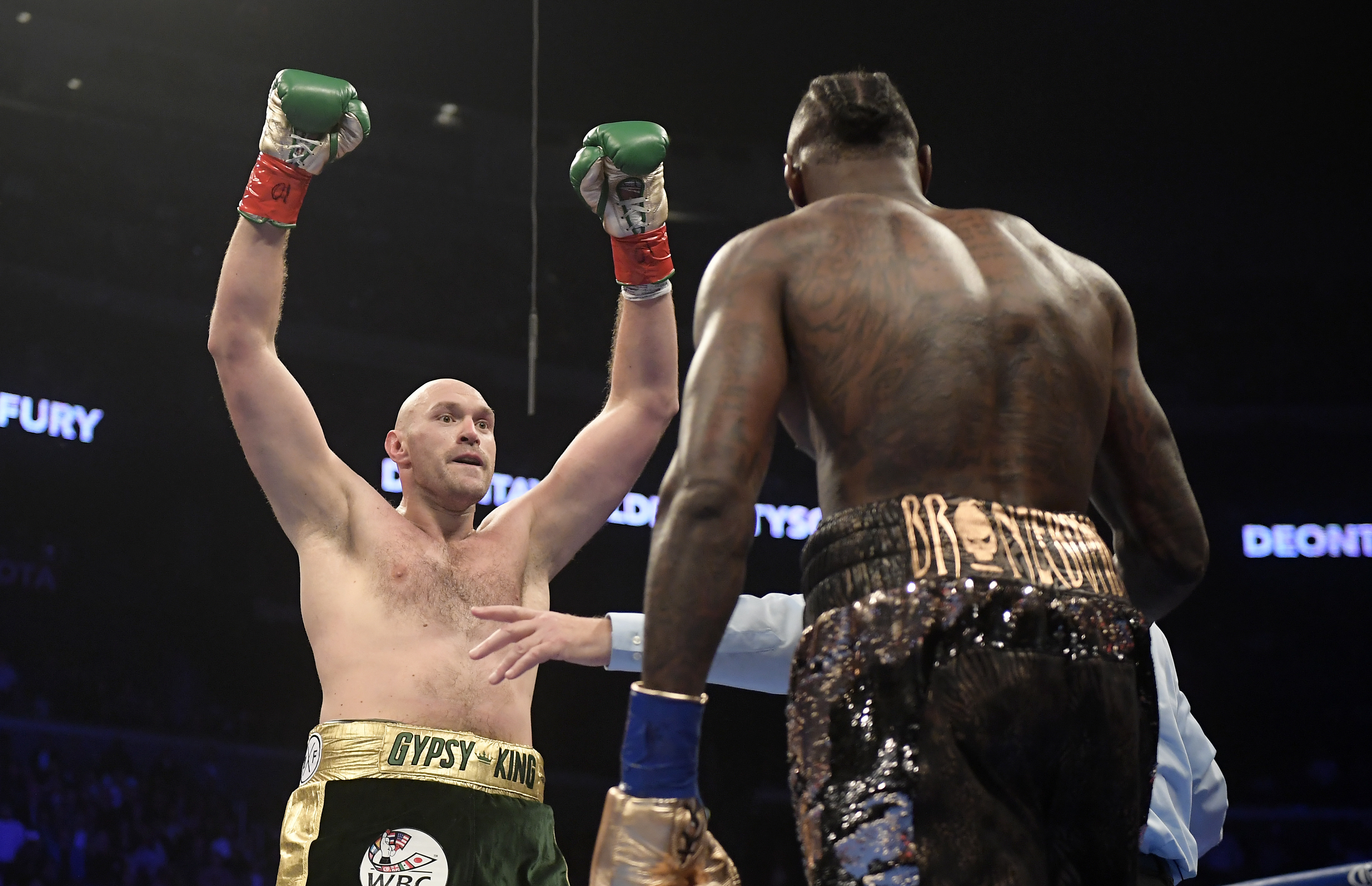 Fury thought he'd won the fight, as did most people. Image: PA Images