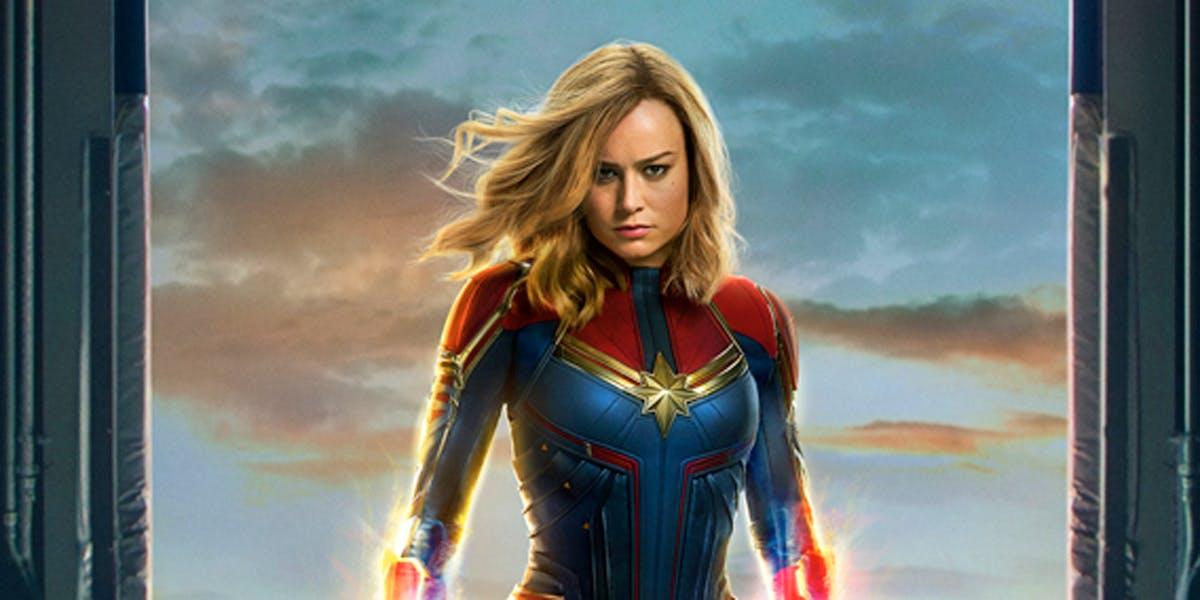 Brie Larson as Captain Marvel. Credit: Marvel Studios