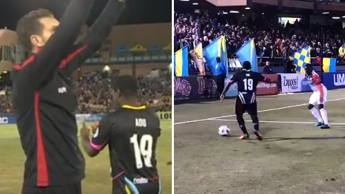 Watch: Freddy Adu Comes On As Substitute, Makes History For Las Vegas Lights