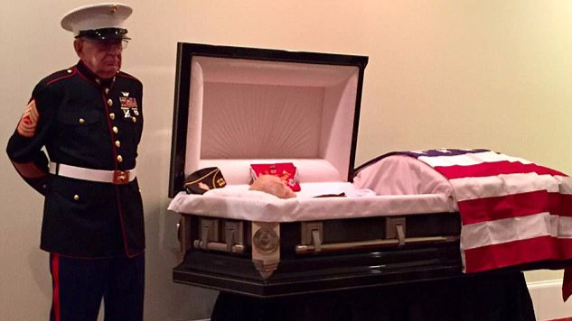 Vietnam War Vet Stands Guard At Marine Buddy's Funeral 50 Years On