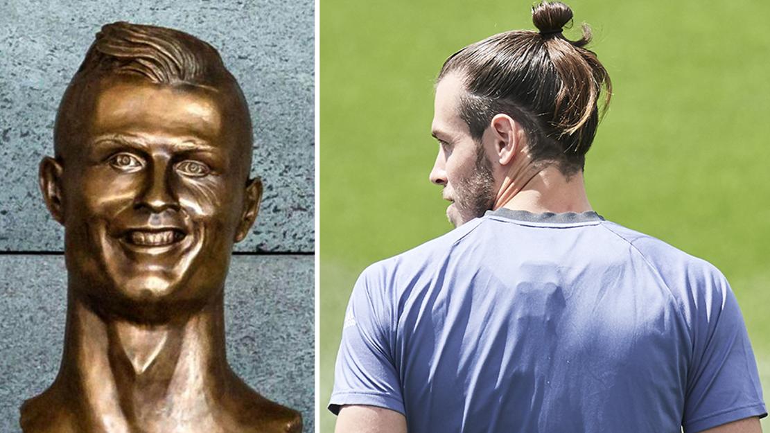 The Creator Of Cristiano Ronaldo's Statue Has Now Made Gareth Bale Version