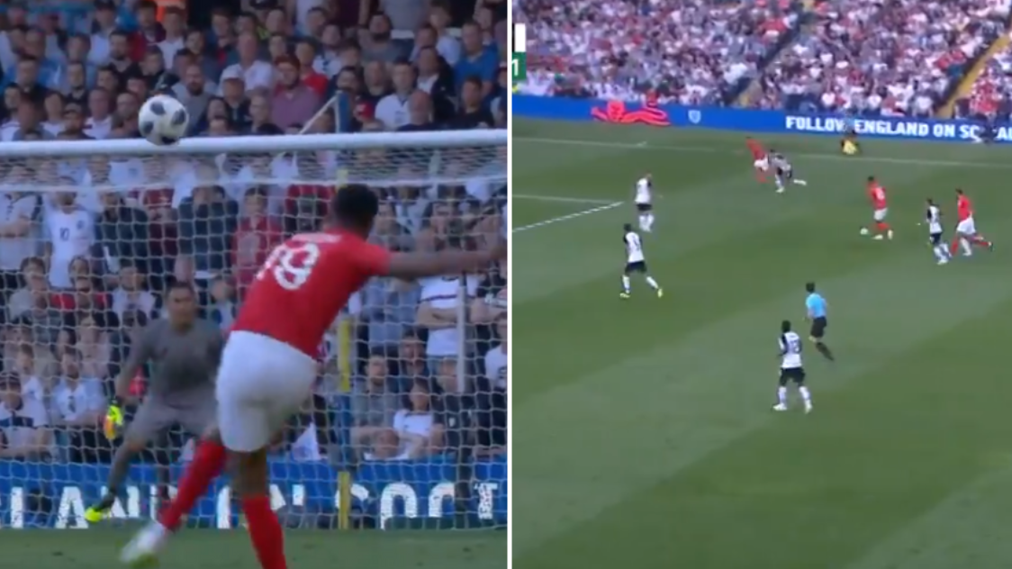 Marcus Rashford Scores An Absolute Beauty For England