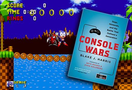 SEGA Vs Nintendo 'Console Wars' Book To Become A TV Show - LADbible