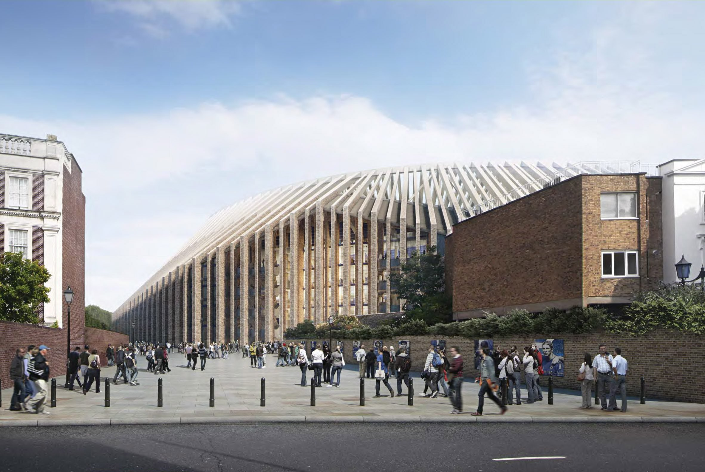 Chelsea seek council help with Stamford Bridge redevelopment dispute