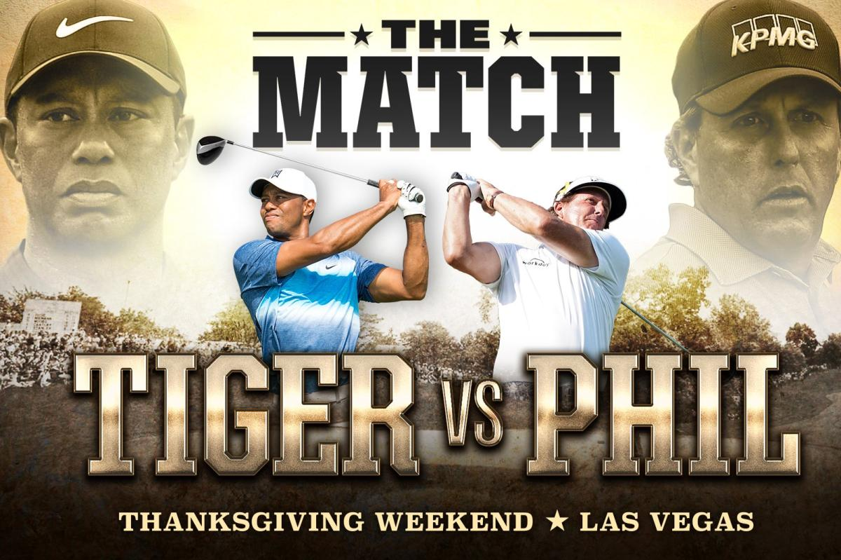 Woods vs Mickelson is on.