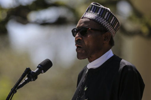 The Nigerian president, Muhammadu Buhari, denies dying and being replaced by a clone. Credit: PA