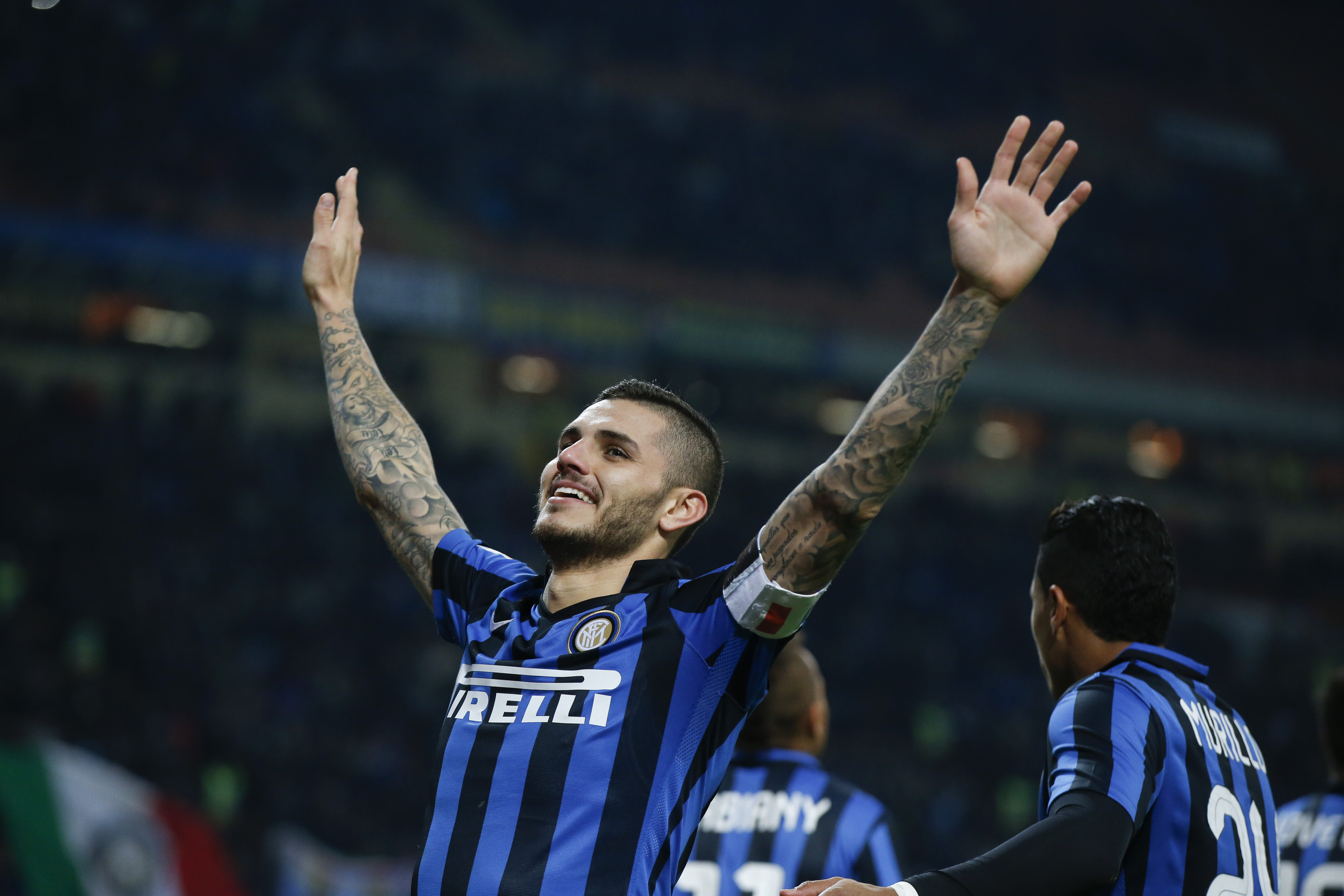 Icardi is one of the best strikers in the world. Image: PA Images