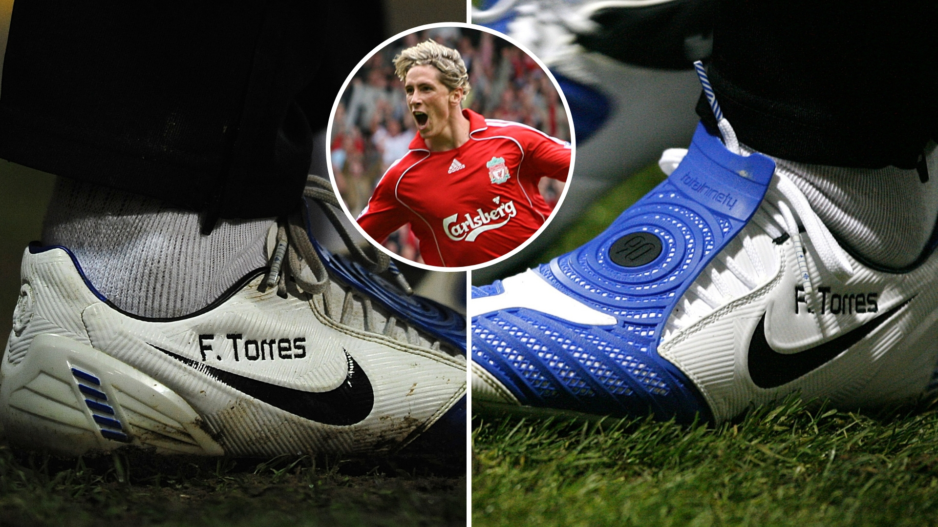 Liverpool legend Fernando Torres also knew the score when it came to stylish footwear. Credit: PA