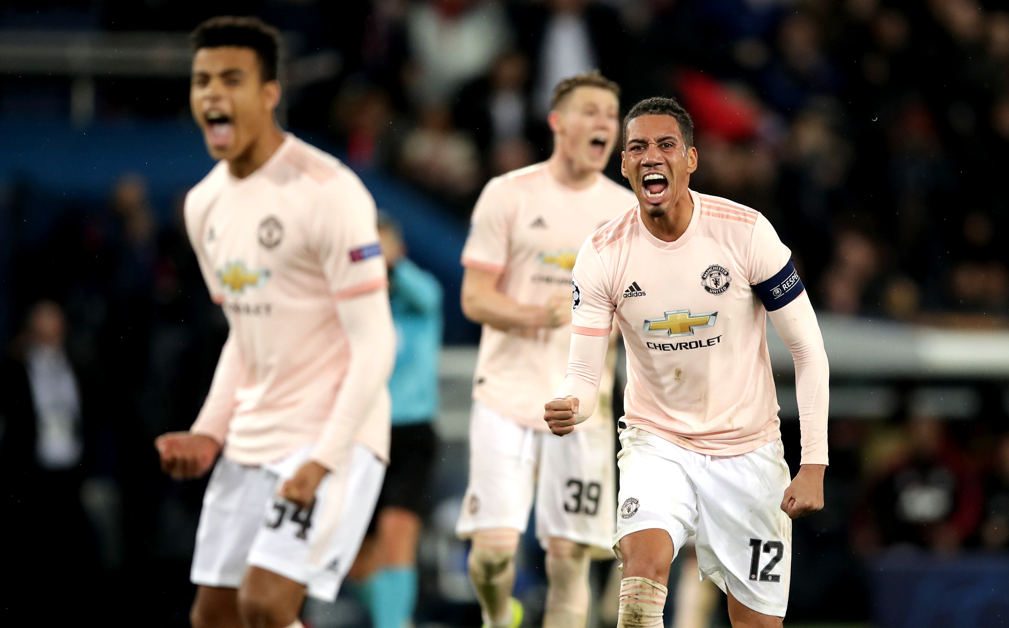 Chris Smalling has been much improved under Ole Gunnar Solskjaer. Image: PA Images