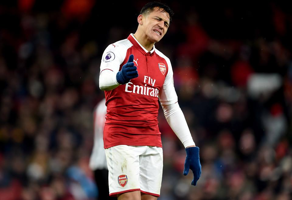 Alexis Sanchez Agreed New Arsenal Contract To Keep At Emirates Beyond 2018