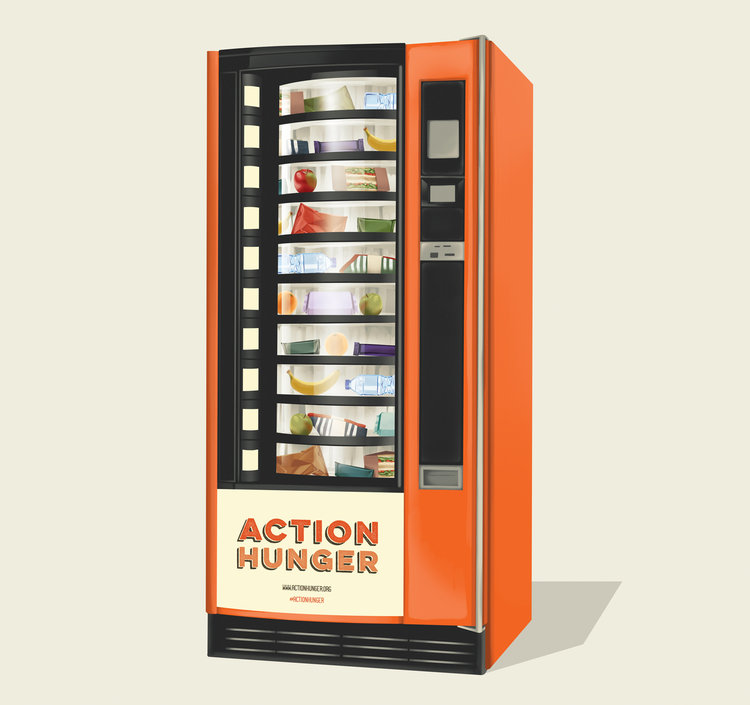 The world's first vending machine for homeless people launches today
