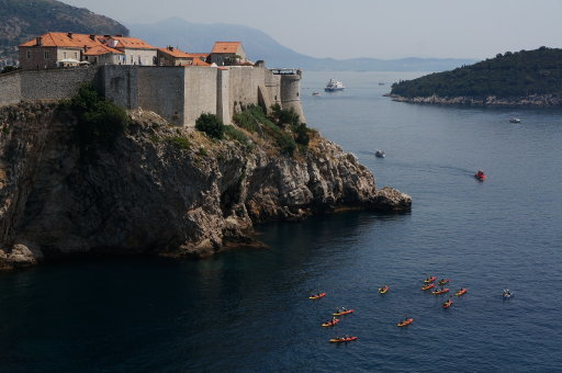 Dubrovnik looks nice, doesn't it? Credit: PA